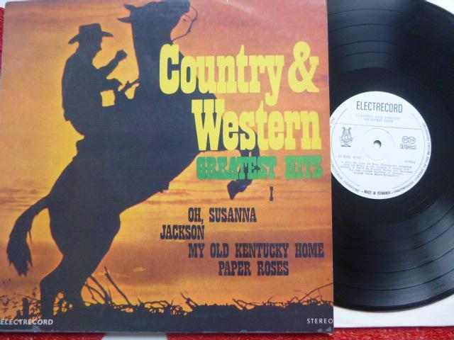 COUNTRY AND WESTERN GREATEST HITS I - Oh, Susanna Jackson Paper Roses - Hudba
