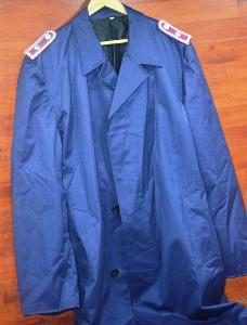 Německý nepromokavý kabát, hasič,  s hodností