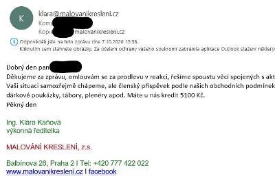 Dárkový kupon na 5100Kč na jakýkoliv kurz malovanikresleni.cz Praha
