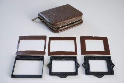 Originální sada rámečků Rolleicord Rolleiflex 16