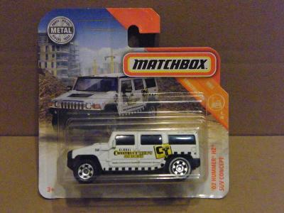 MATCHBOX -  '02 HUMMER H2 SUV CONCEPT
