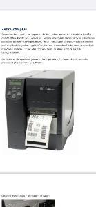 Zebra Z4Mplus  tiskárna etiket a štítků