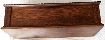 Nová dřevěná truhlička