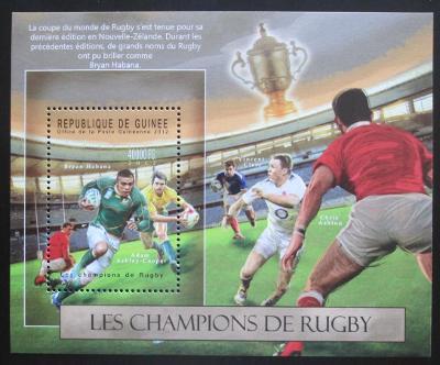 Guinea 2012 Rugby Mi# Block 2116 Kat 16€ 0622