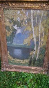 """""""Krajina s jezerem""""--Al.Kalvoda"""