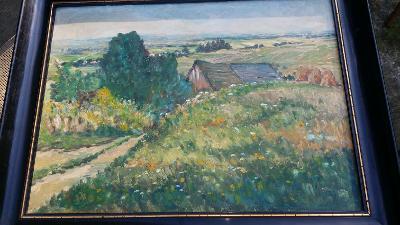 """""""Výhled do kraje s vesnicí"""" G.Macoun"""
