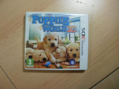 Hra na Nintendo 3DS + 2DS - Puppies World 3D