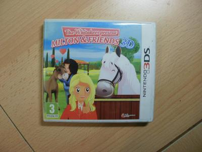 Hra na Nintendo 3DS + 2DS - Milton and Friends 3D