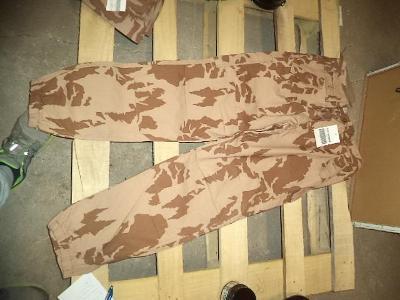 NOVÉ kalhoty vz.95 RS letní ripstop pouštní 194/88