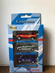 CARARAMA 1/72 SADA MERCEDES A BMW ZÁCHRANÁŘI NĚMECKO