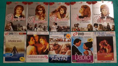 10x Romantické filmy (DVD) - papírový obal - AKCE 4+1!