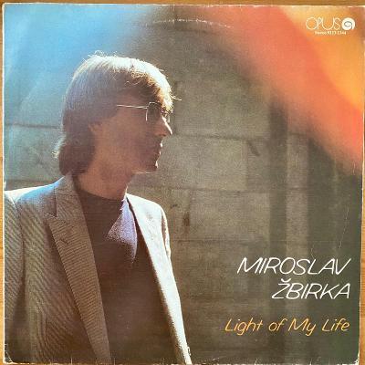 Miroslav Žbirka – Light Of My Life - LP vinyl