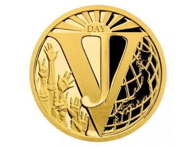 Zlatá mince Konec 2. světové války v Pacifiku proof