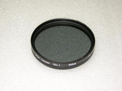 Polarizační filtr 55mm