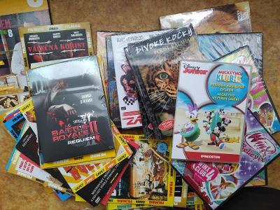 Kolekce 180 DVD (Nové)