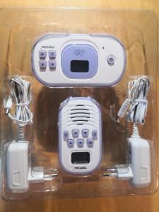 Dětská elektronická chůva Topcom BabyTalker 1020 bílá