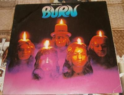 LP - Deep Purple - Burn (Germany 1974) / Perfektní stav!