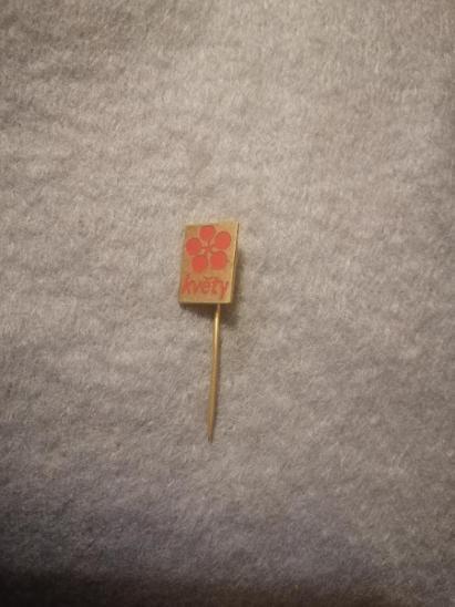 Odznak - Květy  - Faleristika