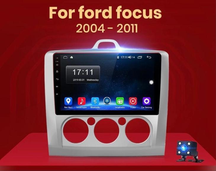 ANDROID autorádio FORD FOCUS 2 (2003-2011) s KAMEROU, WIFI, GPS - TV, audio, video