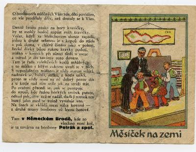 Havlíčkův Brod-Německý Brod-f. Petrák-továrna na bonbony-1.rep-pohádka