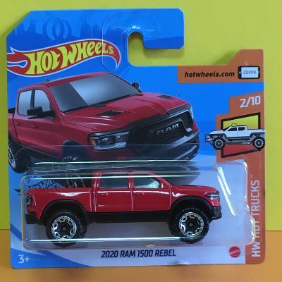 2020 Ram 1500 Rebel - Hot Wheels 2020 225/250 (E15-n4)