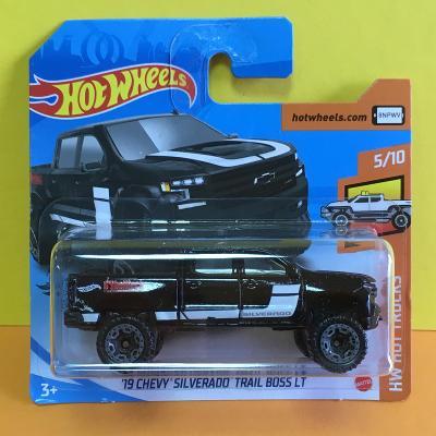 '19 Chevy Silverado Trail Boss LT - Hot Wheels 2020 151/250 (E15-n9)