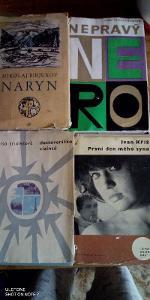 STARÉ KNIHY MIX 50-60-70 Léta