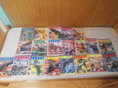 Časopisy zbraně 20ks