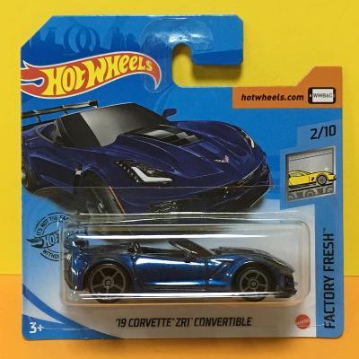 '19 Corvette ZR1 Convertible - Hot Wheels 2020 144/250 (H5-n5)