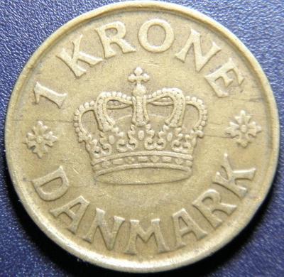 Dánsko 1 Krone 1926HCN, GJ XF č33661