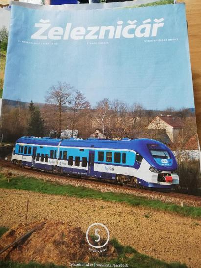Časopis Železničář  - Ostatní