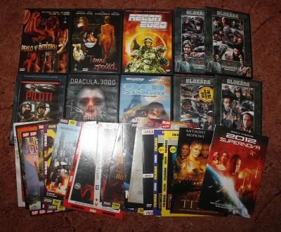 DVD filmy 40 kusu