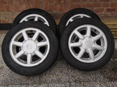 Sada letních pneu 185/60 R14 včetně Alu disků (VW)