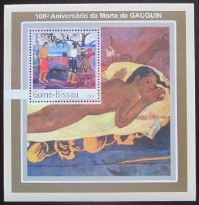 Guinea-Bissau 2003 Umění, Paul Gauguin Mi# Block 391 Kat 12€ 0738