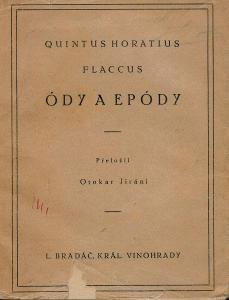 Horatius Flaccus: ÓDY a EPÓDY, 1923