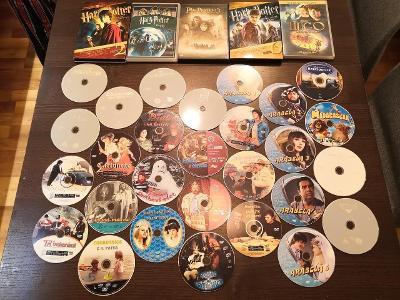 33 DVD RODINNÝCH FILMŮ ZAHRANIČNÍCH I ČESKÝCH
