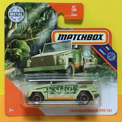 1974 Volkswagen Type 181 - Matchbox 2020 67/100 (mb-1)