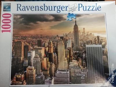 PUZZLE S MOTIVEM  New York Manhattan od firmy Ravensburger