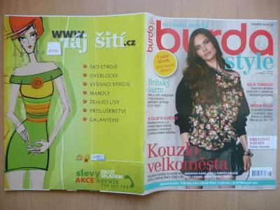 Časopis - BURDA style - Světová móda - číslo 9 ze září roku 2014
