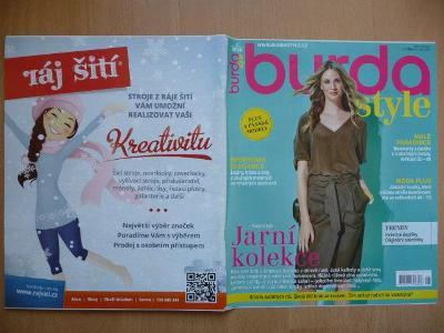 Časopis - BURDA style - číslo 2 z února roku 2016