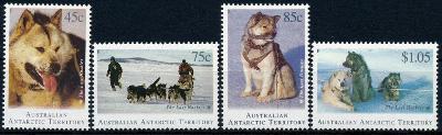 Australská Antarktida 1994 **/Mi. 98-01, komplet , psi   , /L22/