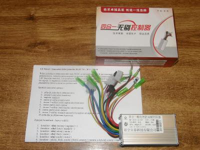 Řídící jednotka pro elektrokolo BLDC 24-36V