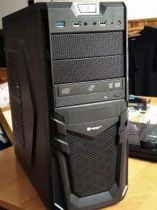 Herní PC i5 4460 3,2Ghz, 16gb ram, RX 470 4gb GDDR5, 1TB