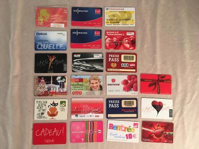 Prošlé slevové a telefonní karty