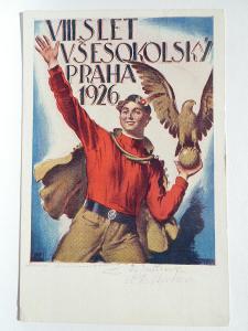 Praha - SOKOL VIII. SLET 1926