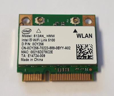 Wifi modul 0CY256 / 512AN_HMW z Dell Latitude E5400