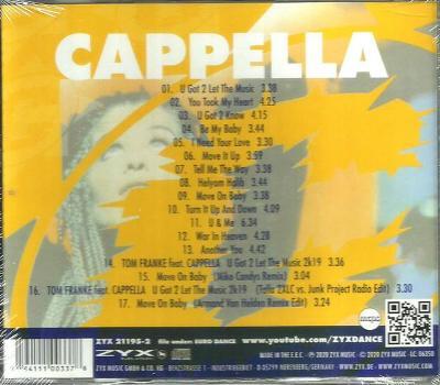 Cappella - Greatest Hits CD Album Nové, Zabalené