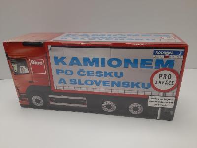 Kamionem po česku ! DINO, logistická hra, přepravci nákladů, nová