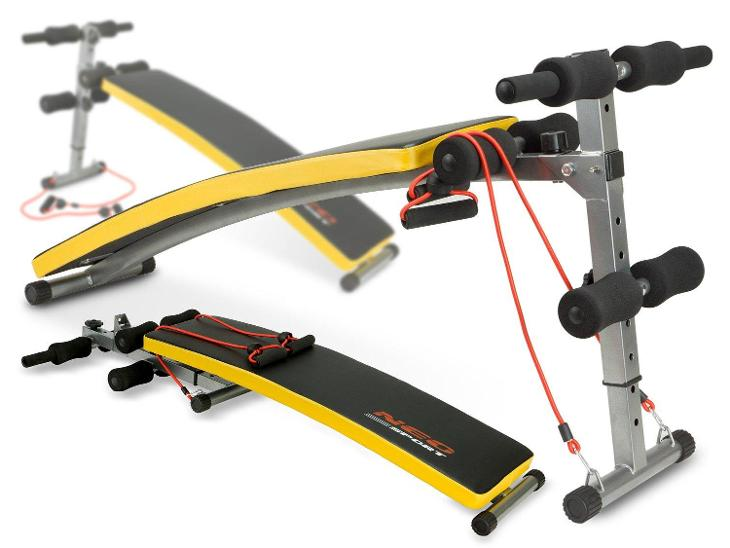 VÝCVIKOVÁ LAVICE + EXPANDERY Fitness - Posilování, fitness a trampolíny