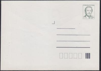 CELINOVÁ OBÁLKA - VÁCLAV HAVEL - ROK 1990 - NEPOUŽITÁ